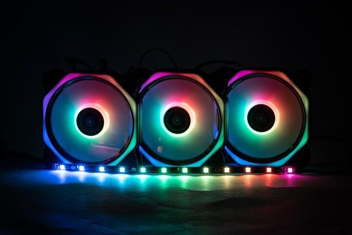 1stCool LED pásek AURA RAINBOW, ARGB strip, 30 cm