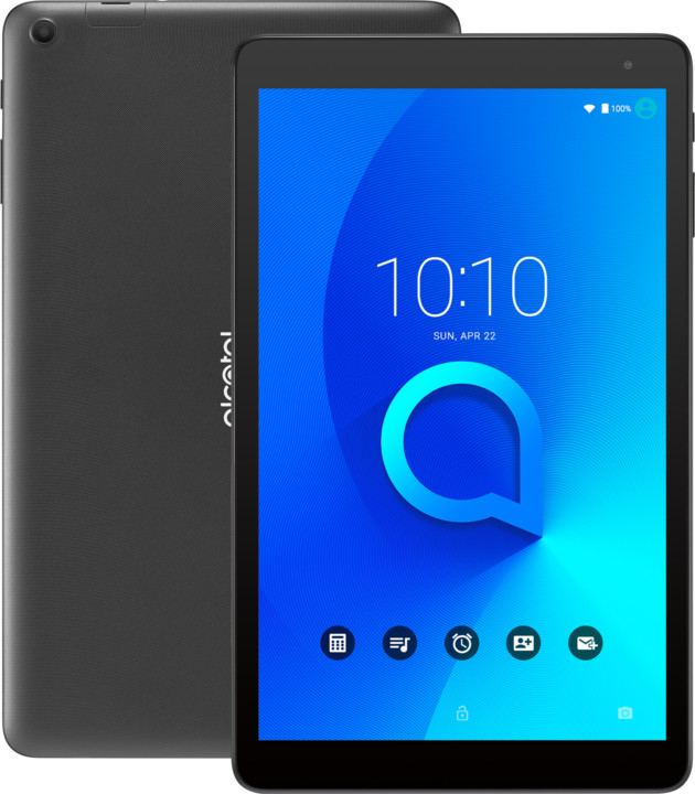 Alcatel 1T 10 Wifi, černá