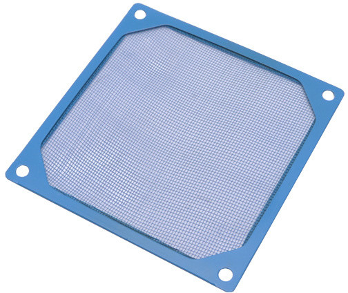 Primecooler PC-DFA80BL 80mm, Al. Blue prachový filtr
