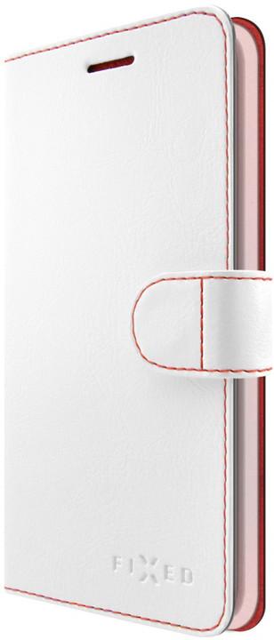 FIXED FIT pouzdro typu kniha pro Huawei P9 Lite Mini, bílé