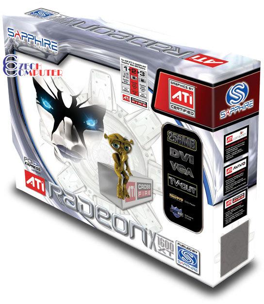 Sapphire Atlantis ATI Radeon X1600 XT 256MB, PCI-E