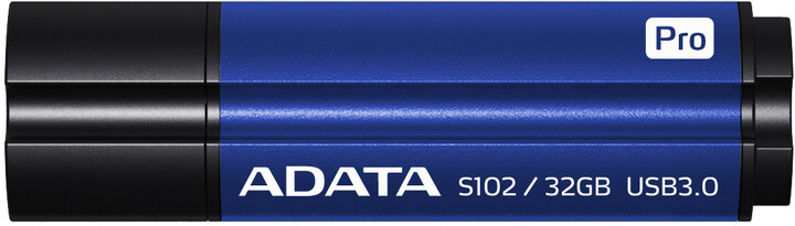 ADATA Superior S102 Pro 32GB modrá