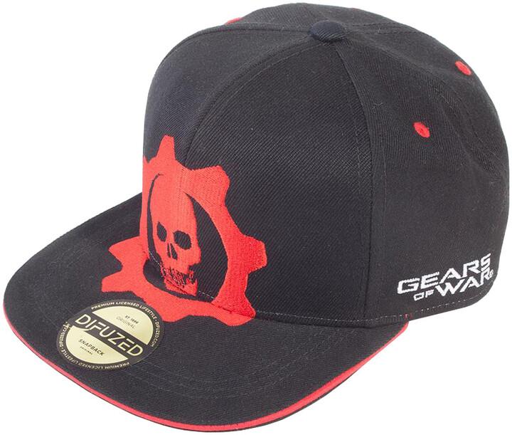 Kšiltovka Gears of War - Red Helmet Snapback