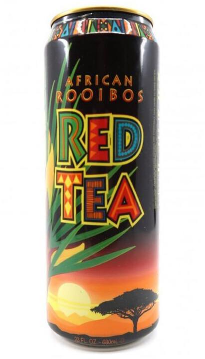 AriZona Mandela Red Tea, ledový čaj, rooibos, 680 ml