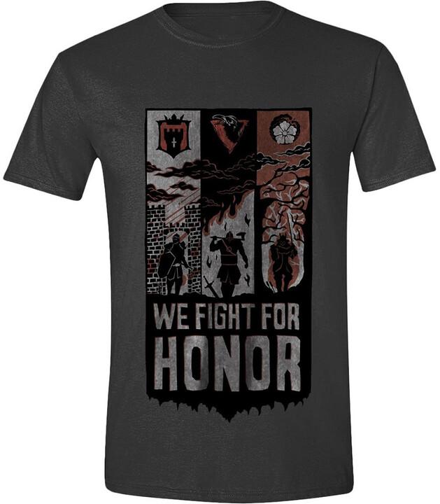 Tričko For Honor - We Fight Banner (M)