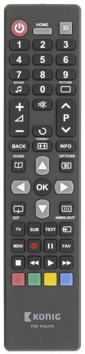 König univerzální dálkové ovládání pro televize Philips