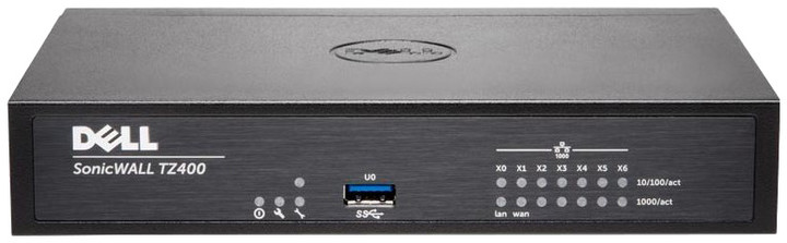 Dell SonicWall TZ400 Totalsecure firewall, podpora na 1 rok