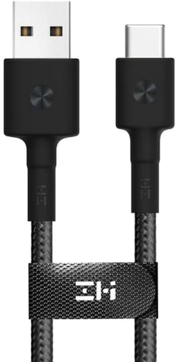 Xiaomi Mi Type-C Braided Cable, černá
