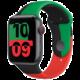 Apple řemínek pro Watch Series, sportovní, 44mm, Black Unity SB-Reg O2 TV Sport Pack na 3 měsíce (max. 1x na objednávku)