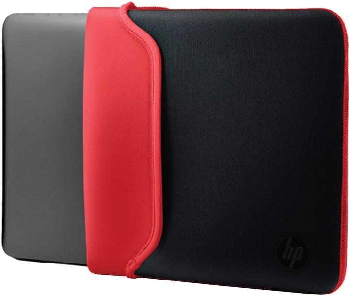 """HP 14"""" Pouzdro Neoprene Sleeve černá / červená"""