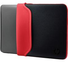 "HP 14"" Pouzdro Neoprene Sleeve černá / červená - V5C26AA"