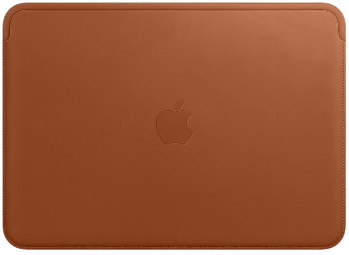 Apple Kožený návlek na 12palcový MacBook, sedlově hnědá