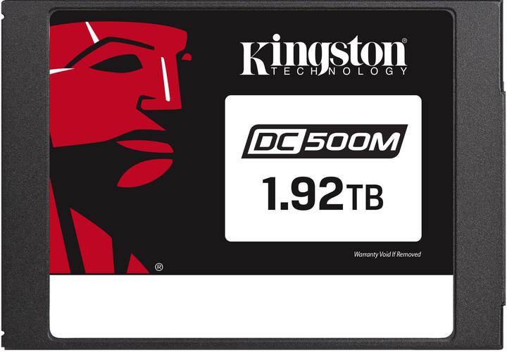 "Kingston Flash Enterprise DC500M, 2.5"" - 1,92TB (Mixed-Use)"