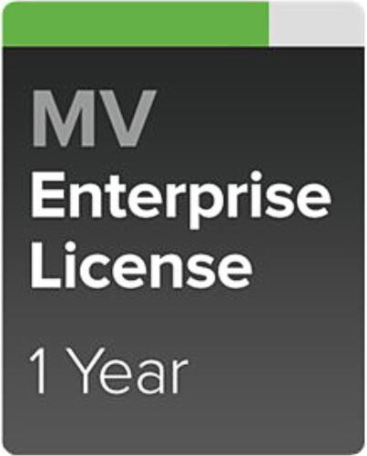 Cisco Meraki MV Enterprise a Podpora, 1 rok