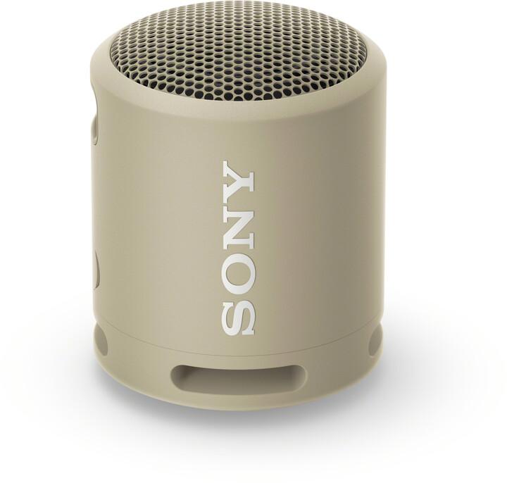 Sony SRS-XB13, šedá/hnědá