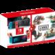 Nintendo Switch, červená/modrá + Nintendo Labo Vehicle Kit  + 10x voucher na 100Kč slevu na hry (při nákupu nad 999 Kč)