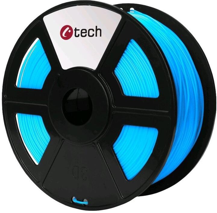 C-TECH tisková struna (filament), PLA, 1,75mm, 1kg, nebeská modrá