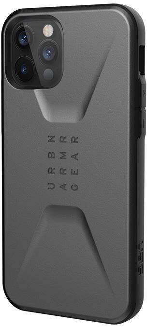 UAG ochranný kryt Civilian pro iPhone 12/12 Pro, stříbrná