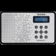 TechniSat TechniRadio 2, černá/stříbrná  + Voucher až na 3 měsíce HBO GO jako dárek (max 1 ks na objednávku)