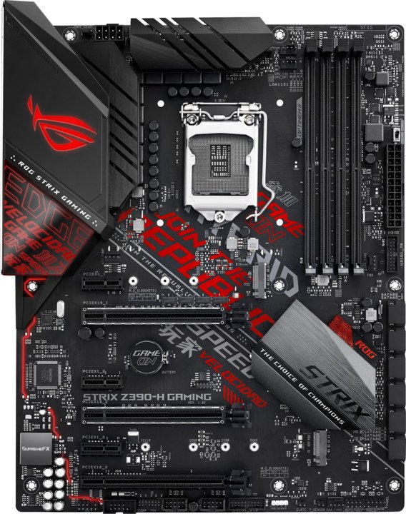 ASUS ROG STRIX Z390-H GAMING - Intel Z390
