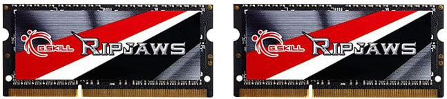 G.SKill Ripjaws 8GB (2x4GB) DDR3 1600 CL9 SO-DIMM