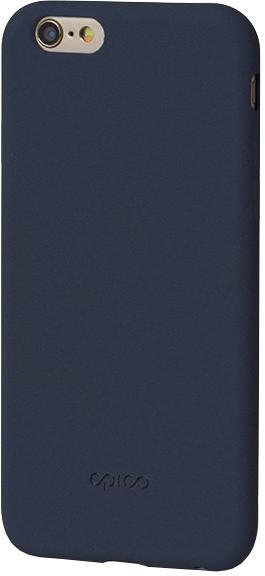 EPICO pružný plastový kryt pro iPhone 6/6S RUBY - tmavě modrý