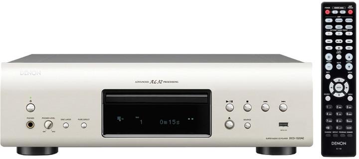 Denon DCD-1520AE, stříbrná