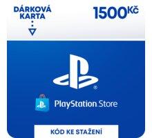 PlayStation Store - Dárková karta 1 500 Kč - elektronicky