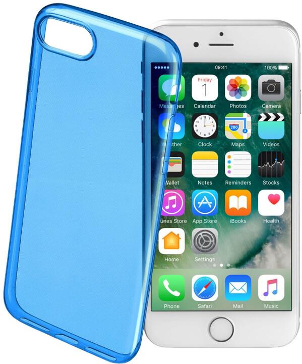 CellularLine COLOR barevné gelové pouzdro pro Apple iPhone 7, modré