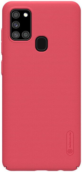 Nillkin zadní kryt Super Frosted pro Samsung Galaxy A21s, světle červená