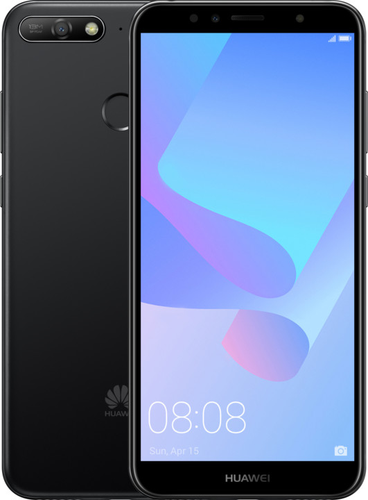 Huawei Y6 Prime 2018, černý