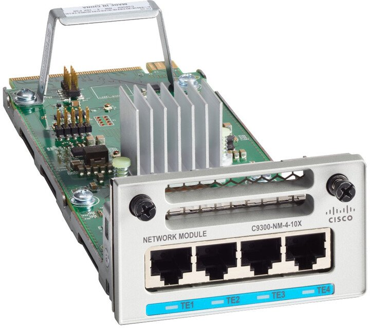 Cisco C9300-NM-4G=, síťový přepínací modul 1Gb Ethernet