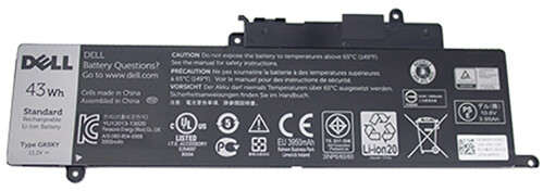 Dell baterie, 3-cell, 43Wh LI-ON pro Inspiron 3148/3157/3158
