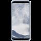 Samsung S8+, zadní kryt - kůže Alcantara, mint