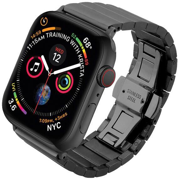 COTEetCI řemínek pro Apple Watch, kovový, 38 - 40mm, černá