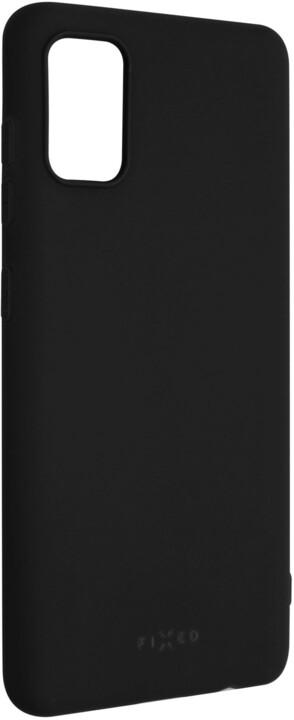 FIXED Story zadní pogumovaný kryt pro Samsung Galaxy A41, černá