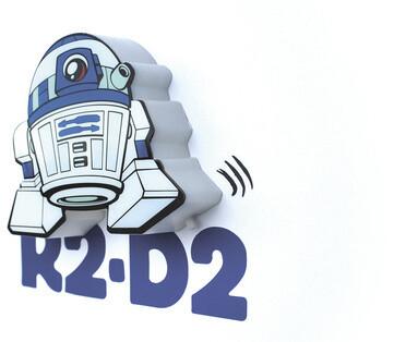3D Mini světlo Star Wars - R2-D2