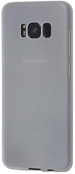 EPICO SILK MATT pružný plastový kryt pro Samsung Galaxy S8+ - bílý transparentní