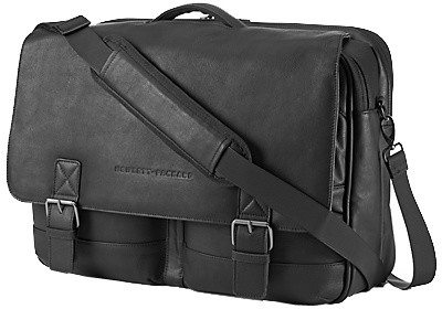 "HP Executive Leather Messenger Case 14"", černá"