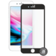 Screenshield ochrana displeje Tempered Glass pro Apple iPhone 8 Plus, černá