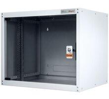 Legrand EvoLine nástěnný datový rozvaděč 16U, 600x450mm, 65kg, skleněné dveře - EVO16U6045