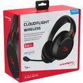 HyperX Cloud Flight, černá