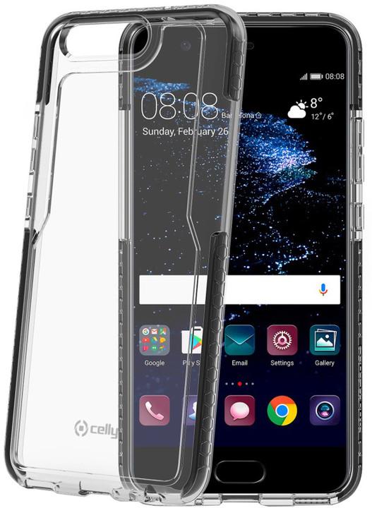 CELLY Hexagon Zadní kryt pro Huawei P10, černý