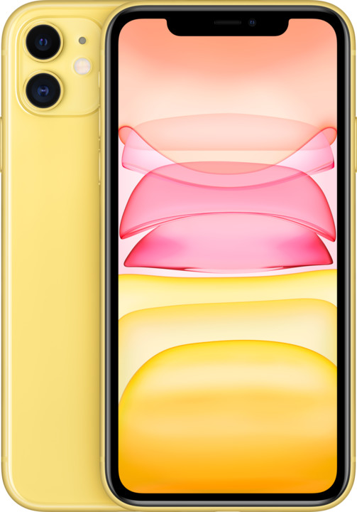 Apple iPhone 11, 64GB, Yellow