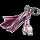 MIZOO USB/microUSB přívěsek X900, růžový