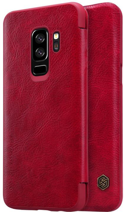 Nillkin Qin Book pouzdro pro Samsung G965 Galaxy S9 Plus, Red