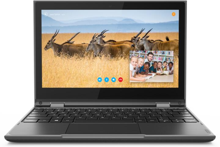 Lenovo 300e 2nd Gen (Intel), černá