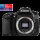 Canon EOS 80D, tělo  + 2700Kč zpět od Canonu + 100GB úložného prostoru v irirsta