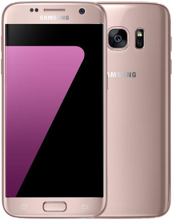 Samsung Galaxy S7 - 32GB, růžová + cashback 3000 Kč