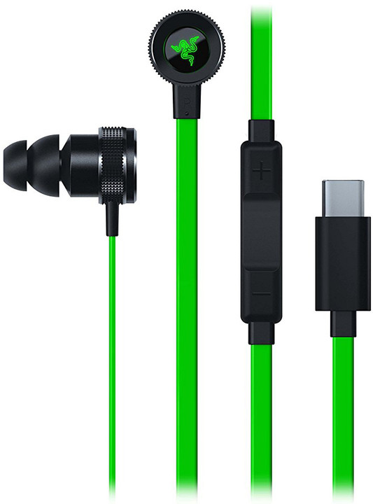 Razer Hammerhead USB-C, zelená